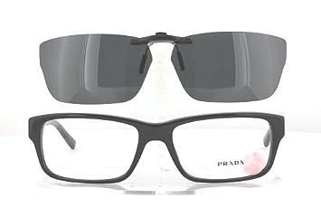 83bae3bdc2d ... reduced prada vpr16m 55x16 polarized clip on sunglasses frame not  included d53f1 b35a8 best price prada sunglasses spr 10r black ...