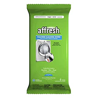 Affresh W10355053 Washing Machine Cleaner | Cleans Front Top Load Washers, Including HE, 24 Wipes, white