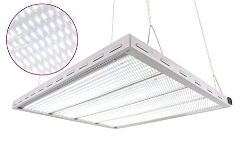 DL8335W-STP 1180W 3X3Ft White 5500K LED Grow Lighting System work with 1000W HID Ballast Directly, Great for VegGrowing! Over 75% Energy Saving!