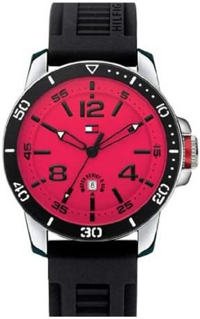 Tommy Hilfiger Synthetic Black Dial Men s Watch 1790848