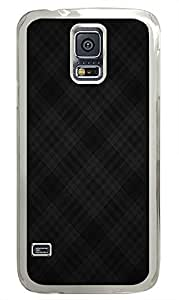 Samsung Galaxy S5 sparkle cases Pattern Blacks PC Transparent Custom Samsung Galaxy S5 Case Cover
