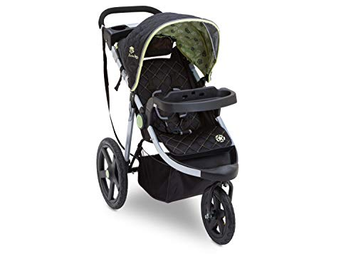 Jeep Adventure All-Terrain Jogger Stroller, Destination Green