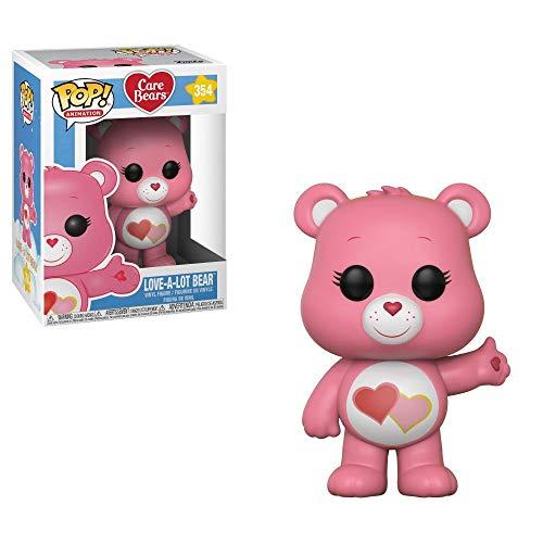 Funko POP! Animation: Care Bears Love-A-Lot Bear Collectible Figure, Multicolor]()