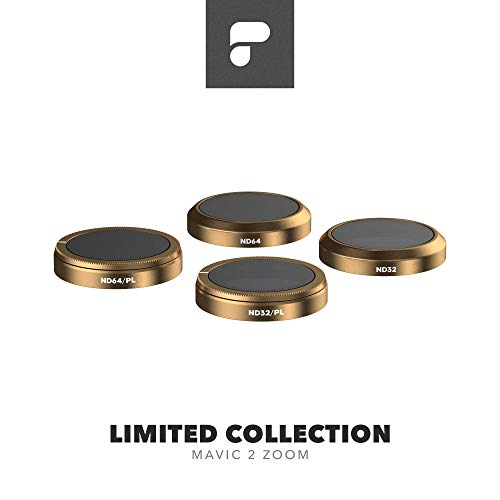 PolarPro Limited Filter Collection for DJI Mavic 2 Zoom - DJI Mavic 2 Filters (ND32, ND32/PL, ND64, ND64/PL)