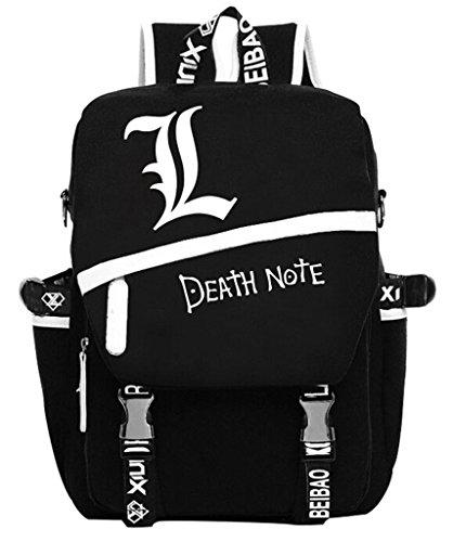 YOYOSHome Death Note Anime Light Yagami Cosplay Rucksack Backpack School (Death Note Light Yagami Cosplay Costume)