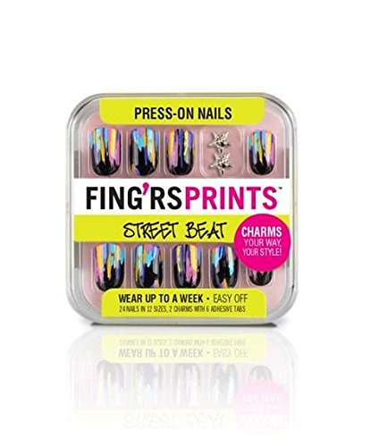 Fing'rs Prints Press-On Nails, Street Beat, Haute Mess 31043