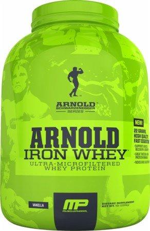 Muscle Pharm fer lactosérum en poudre régime de supplément, Vanille, 5 Pound