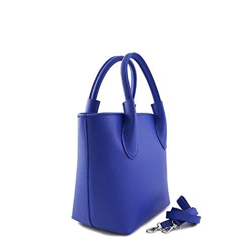bluette mujer Bolso para amp;N azul Piel N de azul cruzados 1zq7WwS