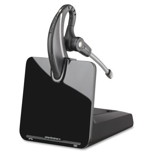 Plantronics, Inc Plantronics Cs530/hl10 Wireless Headset System - Mono - Black - Wireless - Dect - 350 Ft - Over-the (Dect Mobility)