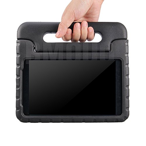 BMOUO-Samsung-Galaxy-Tab-A-80-Kids-Case---EVA-ShockProof-Case-Light-Weight-Kids-Case-Super-Protection-Cover-Handle-Stand-Case-for-Kids-Children-for-Samsung-Galaxy-TabA-8-inch-Tablet---Black-Color