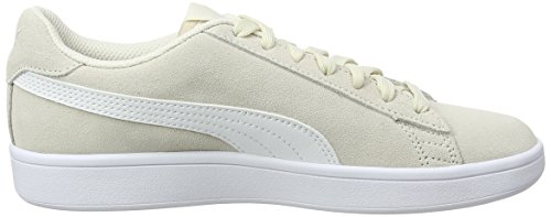 Puma Unisex Adult Smash V2 Low-Top Sneakers Beige (Birch-puma White) tkKwg