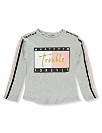 Dream Star Girls' Never Look Back L/S Top