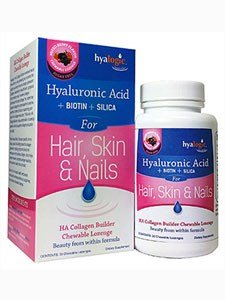 Hyaluronic Acid + Biotin + Silica For Hair, Skin & Nail 30 Lozenges