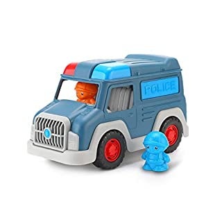 FOOZZILLA Police Car Toys for Boys,Toy Cars for Toddlers,Cars for Toddlers,Educational Toys for Toddler