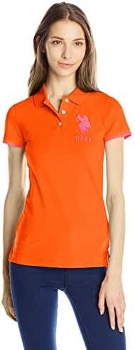 U.S. Polo Shirt Assn. Juniors' Contrast Patch Polo Shirt