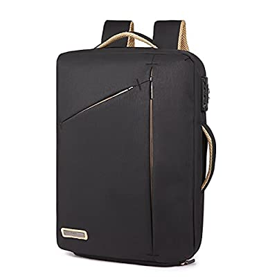 new 15.6'' Business Laptop Backpack Anti Theft Convertible Laptop Bag / Briefcase