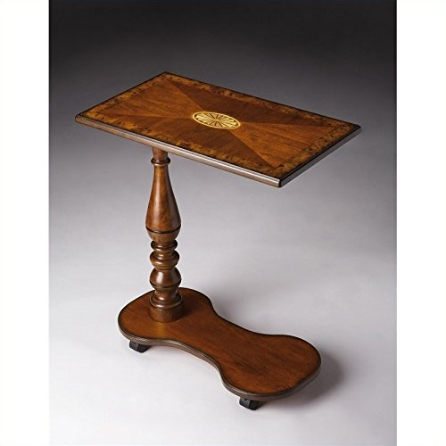 - Beaumont Lane Mobile Tray Table in Olive Ash Burl