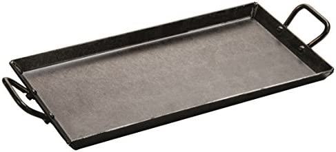 Lodge Carbon Steel Griddle, Pre-Seasoned