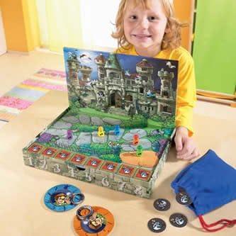 HABA 4236 Geisterjäger - Juego Infantil sobre Cazadores de Fantasmas (en alemán): Amazon.es: Juguetes y juegos
