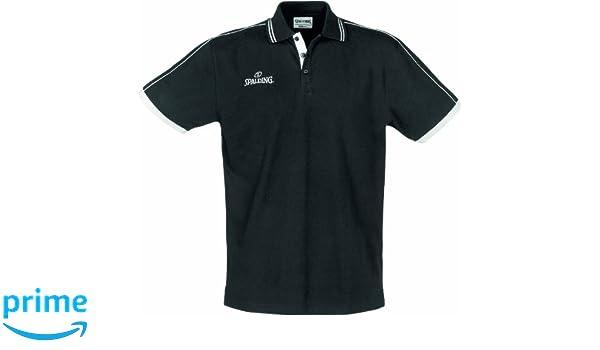 Spalding 300279702 Polo, Hombre, Negro, XXXXL: Amazon.es: Ropa y ...