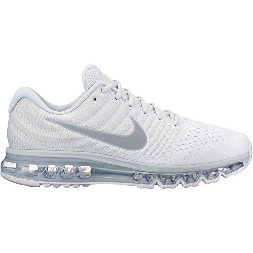 Men's Nike Air Max 2017 Running Shoes Pure Platinum 849559-009
