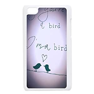 Bird Customized Cover Case for Ipod Touch 4,custom phone case ygtg566688