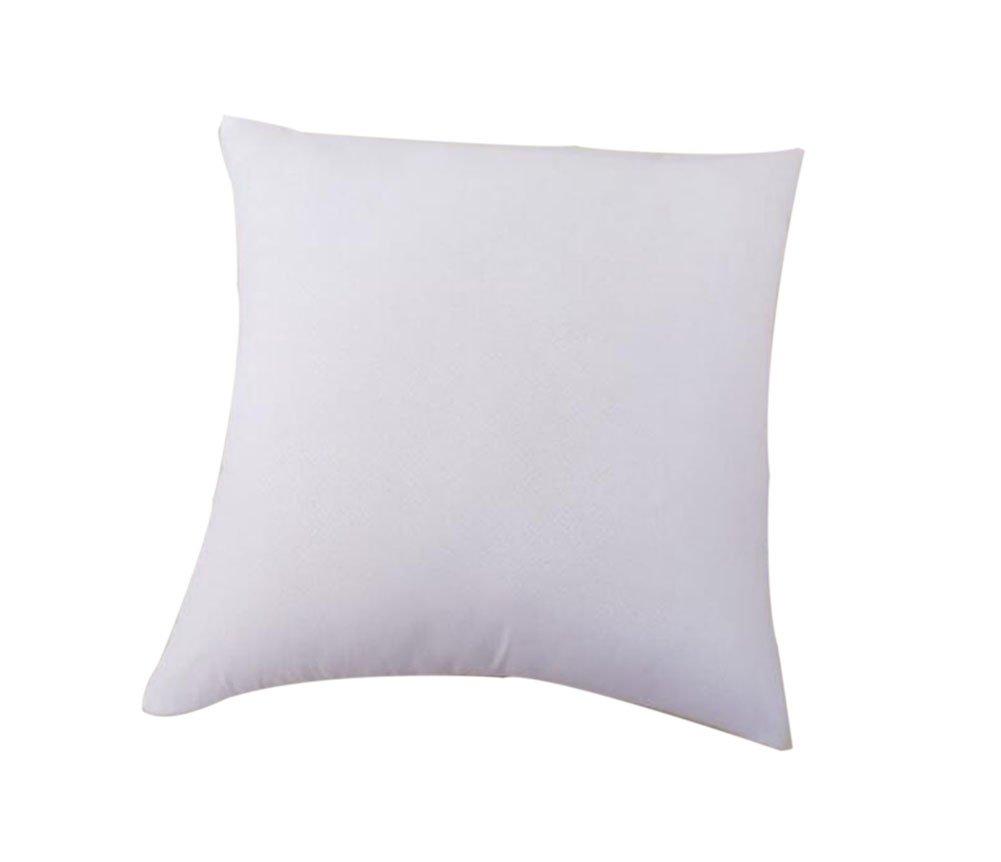 Laat almohada o cojí n sinté tico Có modo, interior de cojines, algodó n y polipropileno, algodó n PP , blanco, 45 x 45 cm algodón y polipropileno algodón PP