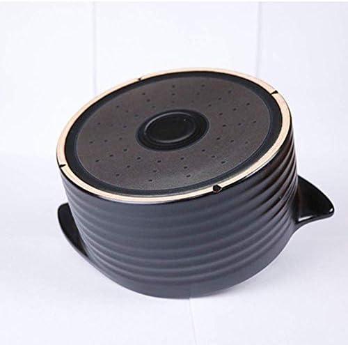 weiwei Casserole en Terre Cuite Casserole en céramique de Pot en Terre Cuite - Résistance à Hautes températures Durable Durable Facile à Nettoyer capacité de 1,1 L