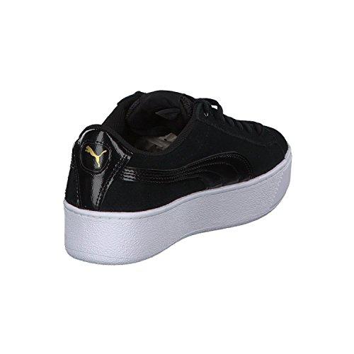 schwarz Vikky Platform Sneaker weiß Damen Puma YqBCII