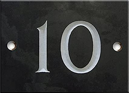 93073b6ba6fb Engraved Slate House number sign - 1 to 99 (select your number here ...