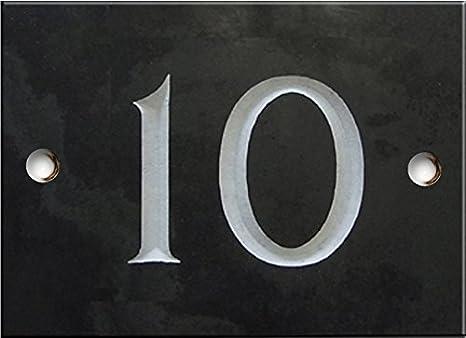 Ardesia numero civico 1 su 20 selezionare il numero qui numeri