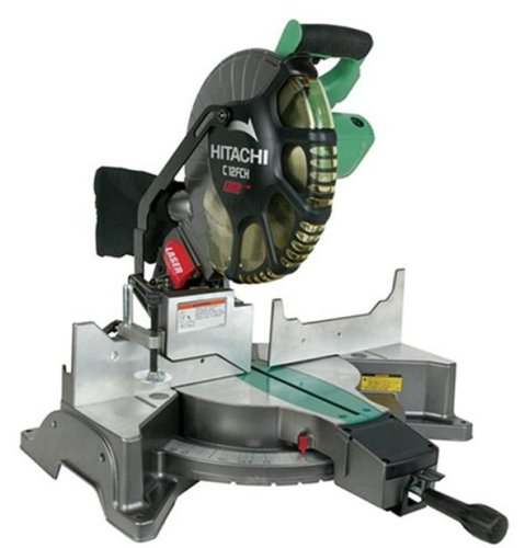Hitachi C12FCH 15 Amp 12-Inch Compound Miter Saw with Laser (Discontinued by Manufacturer)