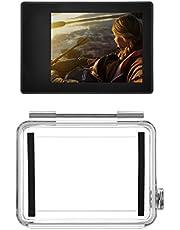 D & F 2'' LCD Externo Monitor no Táctil Visor Pantalla para GoPro Hero 4/3+ con Impermeable Caso