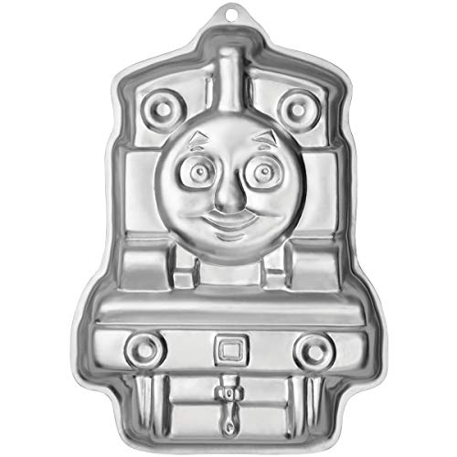 Wilton 2105-3461 Elmo Face Cake Pan (Wilton Thomas The Train Cake Pan Instructions)