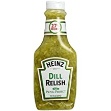 Heinz Dill Relish, 12.7 Ounce Bottles (Pack of 3)