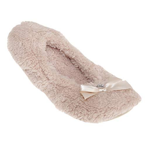 Slumberzzz Womens//Ladies Soft Woodland Animal Design Slippers