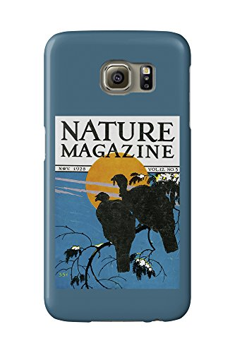 Nature Magazine - View of Wild Turkeys Perching on a Branch in the Moonlight (Galaxy S6 Cell Phone Case, Slim Barely There) (Moonlight The Turkeys In)