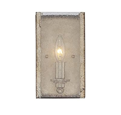Savoy House 9-430-1-128 Chelsey 1-Light Bath Vanity in Oxidized Silver