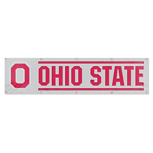 Party Animal Ohio State Buckeyes 8'x2' NCAA College Banner (Side 2 Banner Ncaa)