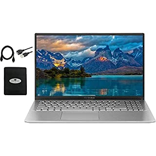 "2020 Newest ASUS VivoBook 15.6"" FHD Thin Light Business Student Laptop, AMD Ryzen 5 3500U(Beat i7-7500U) 8GB RAM 128GB SSD+ 500GB HDD, Radeon Vega 8, Fingerprint, HDMI, USB-C, Win10, w/GM Accessories"