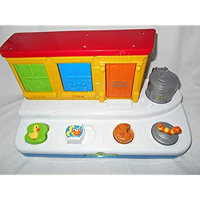Fisher-Price Sesame Street Singing Pop-Up Pals: Toys & Games