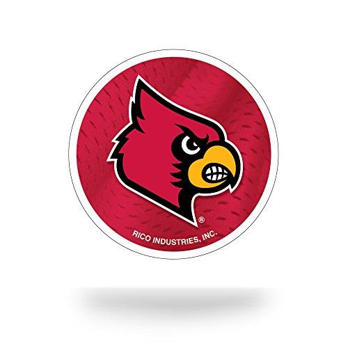 NCAA Louisville Cardinals Team Tattoo, Red, White, Black,