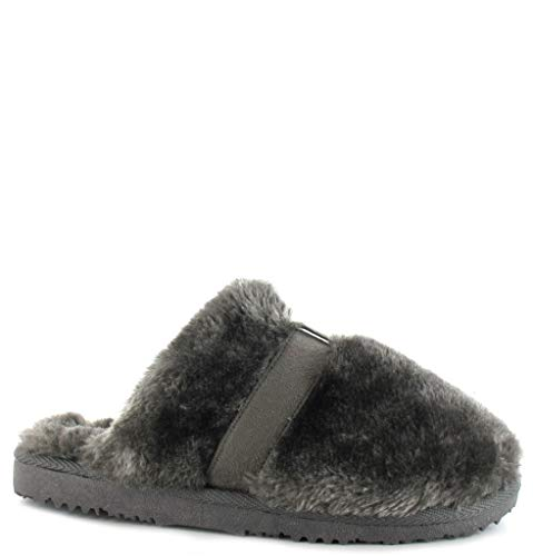 Femme Ella Shoes Mules Ella Shoes Gris wISBdq