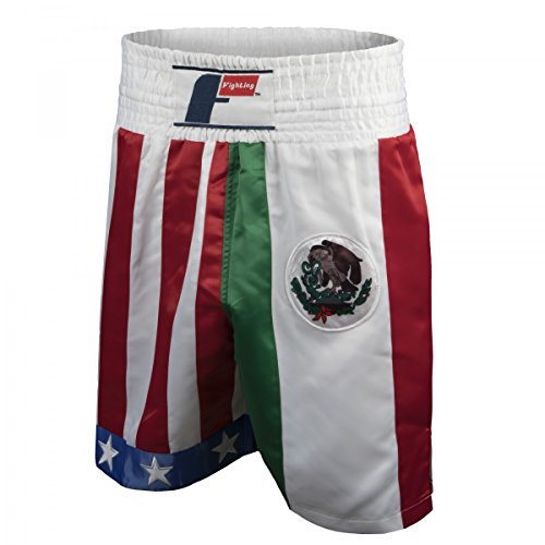 Title Boxing Fighting Sports USA/Mexico Boxing Trunks