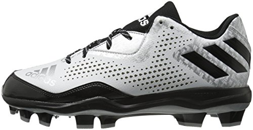 silver Tpu Poweralley Uomo Metallic Baseball Da 4 Adidas black White BAwqTq