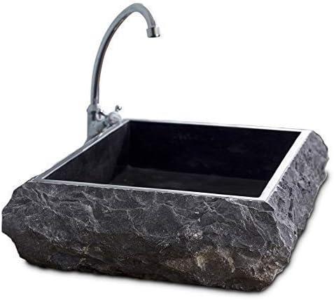 Evier 1 meuble, Lavabo vanité de salle de bain en marbre ...
