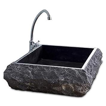 Evier 1 meuble, Lavabo vanité de salle de bain en marbre marbre et ...