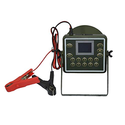 دستگاه آلیسین چند زبانه ضد حریق ضد صحرای چند نفری دستگاه Birdsong 300 صدا 60W بلندگو شکارچی پرنده MP3 پلیر صوتی تماس گیرنده شکار طعمه در فضای باز