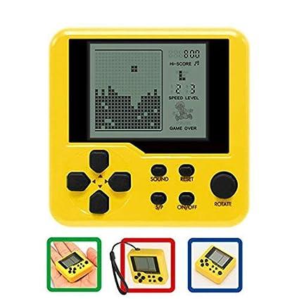 Ffipke Nuovi Bambini Tetris Handheld Game Console Portable Mini Game Handheld Toys Video Games Plug /& Play