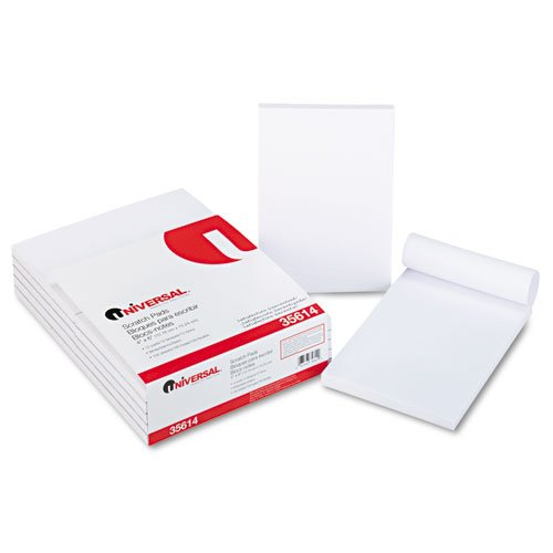 Paper Products White, Unruled 4 X 6 UNIVERSAL OFFICE PRODUCTS ...